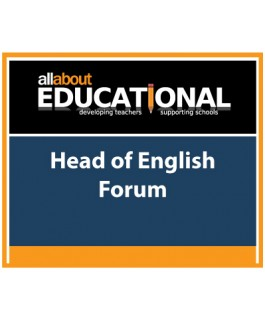 NC 2014 Head of English Forum – Call 020 8368 5832 to run this INSET in your School