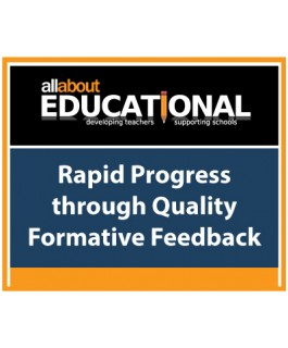 Rapid Progress through Quality Formative Feedback – Call 020 8368 5832 to run this INSET in your School